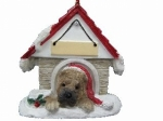 Personalized Doghouse Ornament - Sharpei