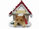 Personalized Doghouse Ornament - Shiba Inu