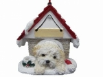 Personalized Doghouse Ornament - Shihpoo