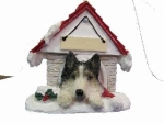 Personalized Doghouse Ornament - Siberian Husky