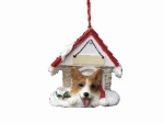 Personalized Doghouse Ornament - Welsh Corgi