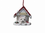 Personalized Doghouse Ornament - Westie
