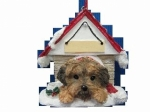 Personalized Doghouse Ornament - Yorkipoo