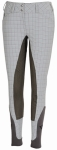 PIAFFE PLAID FULL SEAT BREECHES LADIES