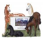 Picture Frame - Frolicsome Horses
