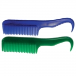 Plastic Comb with Pick