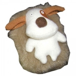Plush Sounding Magnet - Bark/Pant Dog Magnet
