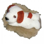 Plush Sounding Magnet - Barking Dog Magnet