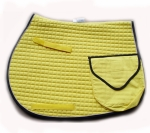 PRI Quilted Cotton Trail Pad with Pockets