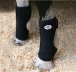 Pro Choice Bed Sore Horse Boots  - Black - Universal Size