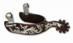 Pro Choice Bob Avila Lady Spur Floral - 1 band, 2 1/4 shank, 10 point rowel