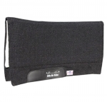 Pro Choice Comfort-Fit SMx H.D. Air Ride Solid Black Western Saddle Pad