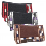 Pro Choice Comfort-Fit SMx H.D. Air Ride Western Felt Bottom Pad - Mason