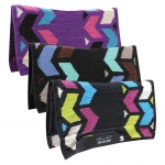 "Pro Choice Comfort-Fit SMx ½"" Air Ride Saddle Pad - Limelight"