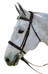 PRO STRESS FREE FANCY BRIDLE W/ PATENT PIPING