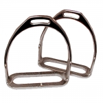 Prussian Polo Stirrup Irons - 4 3/4""