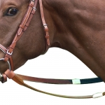 Racing Reins Leather with Rubber Grip