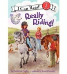 Really Riding Pony Scout Series Book by Catherine Hapka