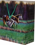 Rivers Edge Horses in the Meadow Gift Bag - Medium