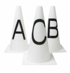 ROMA DRESSAGE CONES -SET OF 8