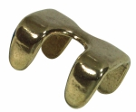 Rope Clamp in Solid Brass
