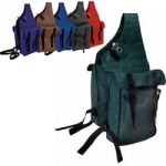 Rugged Nylon Saddle Bags