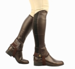 Saxon Equileather KIDS Half Chaps