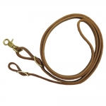 Shenandoah Flat Leather Roping Reins
