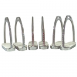 Shimmer Engraved Stirrup Irons
