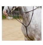 Shires Plain Raised Leather Running Martingale
