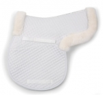 Shires Shaped Sheepskin Saddle Pad