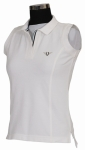 SLEEVE LESS POLO SHIRT