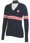 SLIM FIT STARS & STRIPES SWEATER