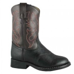 Smoky Mountain Kids Diego Contrast Stitch Roper Western Boot