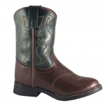 Smoky Mountain Kids Diego Two Tone Roper Western Boot