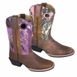 Smoky Mountain Kids Western Mesa Square Toe Boots