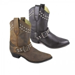 Smoky Mountain Ladies Chico Boot with Studs