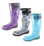 Smoky Mountain Ladies Dancing Horses Rubber Boot