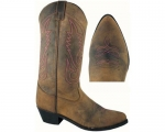 Smoky Mountain Ladies Taos Leather Western Boot