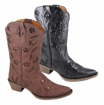 Smoky Mountain Ladies Victoria Boot with Inlays