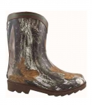 Smoky Mountain Muddy River Camo Rubber Boot