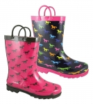 Smoky Mountain Ponies Kids Rubber Boot