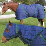 Snuggie Pony Stable Blanket-Black