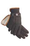 SSG Deerskin Suede Fleece Lined Glove