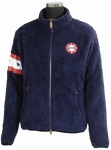 STARS & STRIPES HIGH PILE FLEECE JACKET LADIES