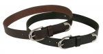 "Tory Leather 1 1/4"" Belt with SS Stirrup Buckle"