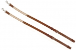 "Tory Leather 1"" Leather & Elastic Side Reins"