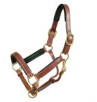 "Tory Leather 1"" Padded Show Halter"