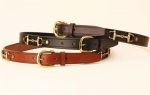"Tory Leather 1"" Snaffle Bit Belt"