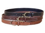 "Tory Leather 1"" Spur Buckle Leather Belt"